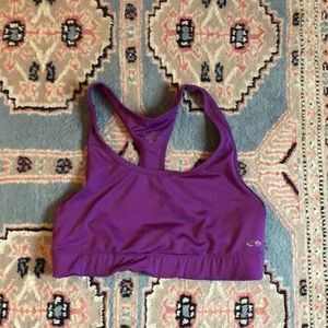 Champion purple sports bra